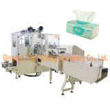 Embaladora del papel de tejidos de la servilleta de la empaquetadora del tejido de la mano
