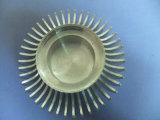 주문을 받아서 만들어진 모양의 LED 방열기, 알루미늄, 정밀도 기계로 가공