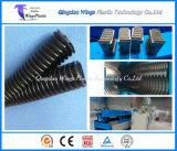 プラスチック単一の壁の波形の管の押出機機械/プラスチック波形の管の生産ライン