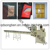 Multi-Fileiras na máquina de empacotamento da borda para biscoitos