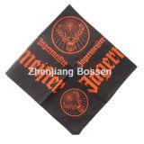 Soem-Erzeugnis passte Firmenzeichen gedruckten fördernden BaumwollHip Hop-Sport-Kopf-VerpackungBandana an