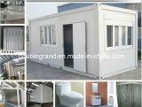 Сегменте панельного домостроения в контейнер для временного управления/два этажа офиса
