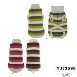 Chandail de chien à main crochet, vêtements à chien (YJ73590)