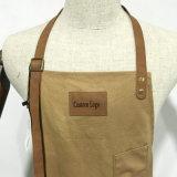 Logotipo durável Handmade do costume do avental da cozinha da lona do pato de 100%