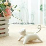 Держатель света чая домашнего декоративного кота форменный милый (CC-10)