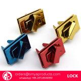 Qualitäts-Beutel-Verschluss-Drehung-Verschluss-Torsion-Verschluss-Presse-Verschluss-Kasten-Verschluss-Gepäck-Verschluss-Kombinationsschloss-Beutel-Schliessen-Vorhängeschloss-Legierungs-Verschluss-Metallverschluss-Schuh-Schliessen