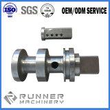 Perfuração de aço Alumínio OEM tocando moenda de peças de usinagem CNC