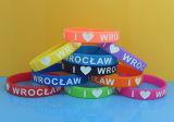 Braccialetti del silicone di sport, Wristbands del silicone di tema di amore