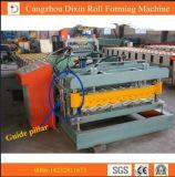 Formação do rolo da telhadura do metal de Portabel/que faz a máquina