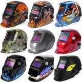 Verdonkert de douane Afgedrukte Auto van het Ontwerp de Helm en het Masker van het Lassen