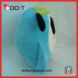 Het promotie Stuk speelgoed van de Koe van de Pluche van het Embleem van de Gift Borduurwerk Gevulde voor de Boerderij van de Kaas