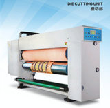 Printer Slotter Die Cutter와 Gluer를 가진 판지 Machine