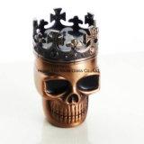 Magnetisch Muller van de Molens van de Rook van het Kruid van de Hulpmiddelen van de Molen van de Tabak van het Metaal van de Vorm van de Schedel van de Koning van de manier Kokende