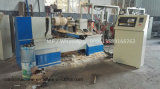 Madeira Automático CNC tornos de moagem de viragem para escadas de madeira Newel Post