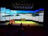 P3.91 l'intérieur de l'écran LED d'affichage vidéo de location