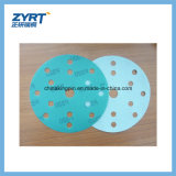 Q7 Green Film Base Gancho e Loop Backing Abrasive Discs