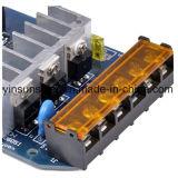 contrôleur solaire de charge de 12V/24V 15A pour le système de picovolte