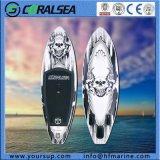 Placa de pá de pé inflável para a ressaca/surfar