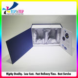 Caixa de presente de empacotamento ajustada do cosmético luxuoso do projeto