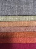 100%Polyester擬似リネンソファーファブリック