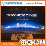 Cartelera de interior video de la visualización de LED de la cabina de HD P3.9mm 500*500m m