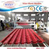 Рециркулированный застекленный PVC ASA UPVC настилающ крышу лист делая машину