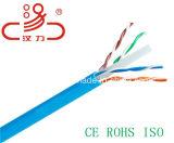 4pair cavo dell'audio del connettore di cavo di comunicazione di cavo di dati del cavo del cavo/calcolatore di categoria 6