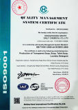 Certificado ISO9001: 2008 Fabricación de jabón de barra de Servicio de lavandería