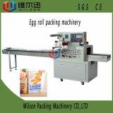 Máquina de empacotamento automática do descanso do alimento malaio do rolo de ovo com Reciprocating a máquina de empacotamento