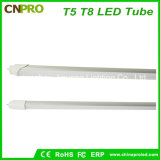 Lampada dell'indicatore luminoso T8 18W del tubo di qualità 4FT 1200mm LED per il progetto
