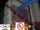 FM/UL ASTM A795の赤い塗られた鋼管
