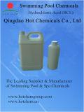 Ácido hidroclórico Hci el 31% del ácido muriático del balanceador del agua de la piscina