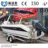 Doppelter Wellen-Boots-Hochleistungsschlußteil mit Rolle