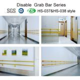 Main courante en acier inoxydable de toilette personnalisé Grab Bar pour l'utilisation de l'hôpital