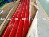 Gewölbtes galvanisierte Stahlblech-/Zink-Beschichtung-gewölbte Stahlblech für Dach-Preis pro Dach Kilogramm-/Metall