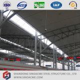 Stahlrohr-Binder-Halle für Serien-Pflege