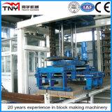 Tijolo automático que faz a linha de produção da maquinaria (sistema de empilhamento fora de linha)