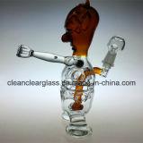 Conduite d'eau en verre ouvrière de plate-forme pétrolière d'oeufs de démon neuf de modèle de Ccg avec le pneu Perc