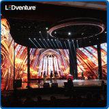 Pared a todo color de interior del vídeo del acontecimiento LED de la etapa