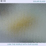 vidrio Tempered del colector solar de la seguridad de 3.2m m