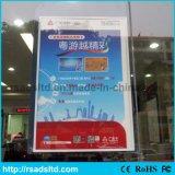 Double écran latéral suspendu LED Slim Acrylic Light Box Display