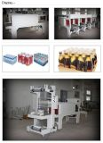 Haustier-Flaschen-Schrumpfverpackung-Maschinen-Ladeplatten-Verpackungs-Maschine