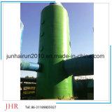 Los desechos químicos de FRP niebla de ácido depurador de gases industriales de gas Scrubber