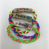 Nuovo stile dal braccialetto di lavoro a maglia Handmade con la lega