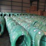 Fio de aço galvanizado ASTM padrão 1.57mm-5.00mm no cilindro de madeira