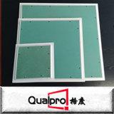 painel de acesso do teto do alumínio de 600*600mm com placa de gipsita AP7710