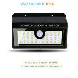 45 LED imperméable à l'eau solaire PIR sensor de mouvement lumière jardin (RS2014)