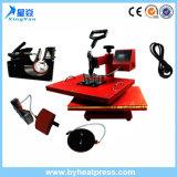 Máquina de la prensa del calor combinada (4 en 1) Taza / camiseta / casquillos / máquina de la placa