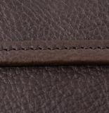 Мода дизайн Vintage стиле коричневой полного заполнения зернового бункера кожаная сумка из натуральной кожи Messenger