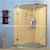 Salle de douche en verre trempé (YH-douche-001)